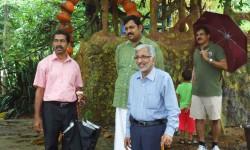 Kerala State Biodiversity Board Chairman Sri. Omman V Omman Visiting Kauthukapark